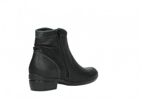 wolky ankle boots 00952 winchester 50002 black leather_10