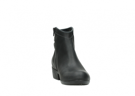 wolky ankle boots 00952 winchester 50002 black leather_18