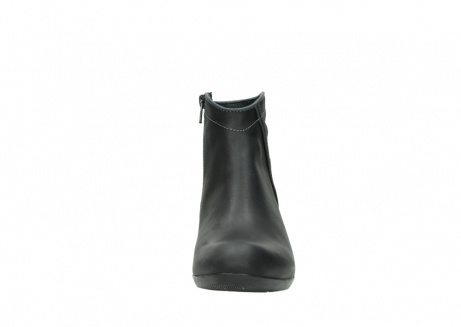 wolky ankle boots 00952 winchester 50002 black leather_19