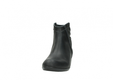 wolky ankle boots 00952 winchester 50002 black leather_20