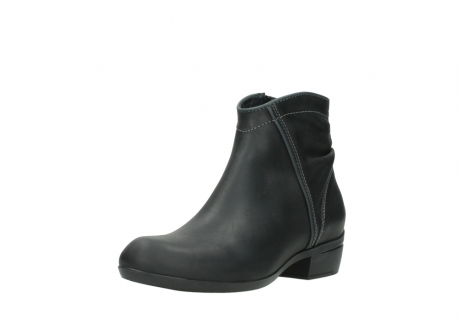 wolky ankle boots 00952 winchester 50002 black leather_22