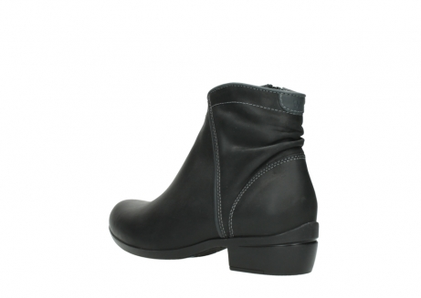 wolky ankle boots 00952 winchester 50002 black leather_4