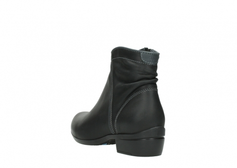 wolky ankle boots 00952 winchester 50002 black leather_5