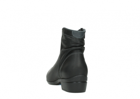 wolky ankle boots 00952 winchester 50002 black leather_6