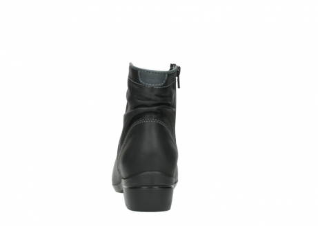 wolky ankle boots 00952 winchester 50002 black leather_7