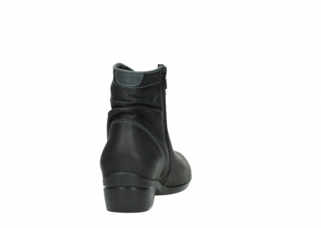 wolky ankle boots 00952 winchester 50002 black leather_8