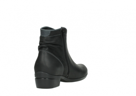 wolky ankle boots 00952 winchester 50002 black leather_9