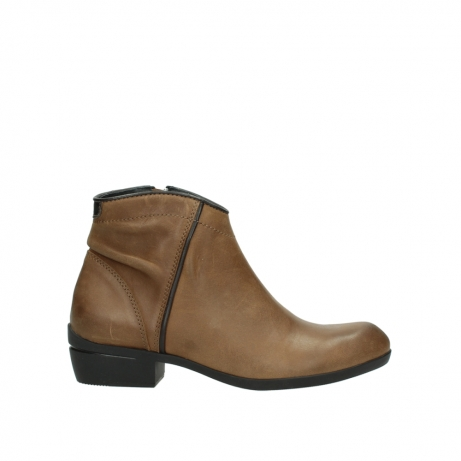 wolky ankle boots 00952 winchester 50432 cognac leather