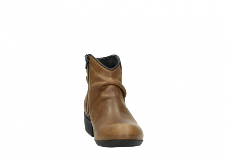 wolky ankle boots 00952 winchester 50432 cognac leather_18