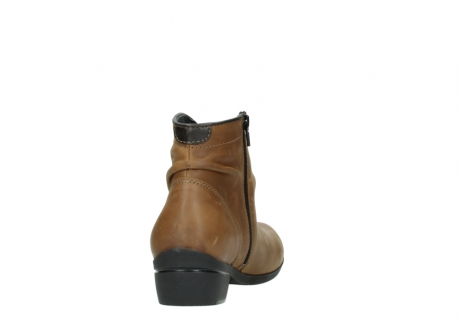 wolky ankle boots 00952 winchester 50432 cognac leather_8