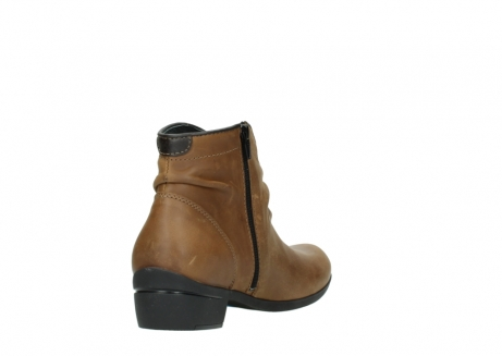 wolky ankle boots 00952 winchester 50432 cognac leather_9
