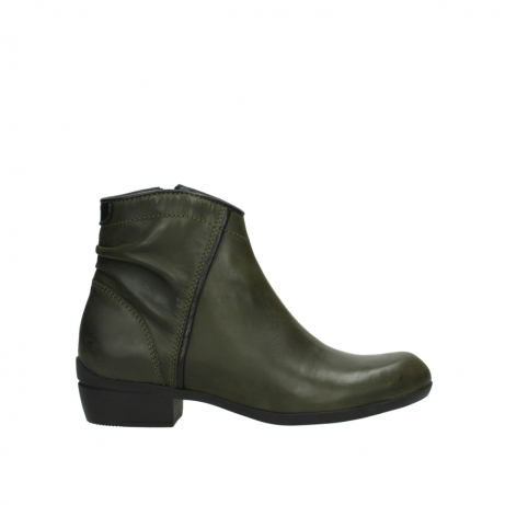 wolky ankle boots 00952 winchester 50732 forestgreen leather