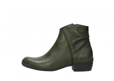 wolky ankle boots 00952 winchester 50732 forestgreen leather_1