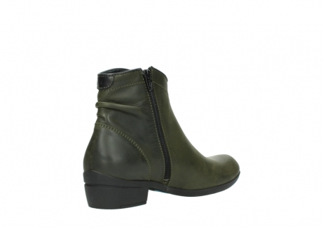 wolky ankle boots 00952 winchester 50732 forestgreen leather_10