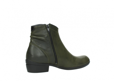 wolky ankle boots 00952 winchester 50732 forestgreen leather_11