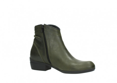 wolky ankle boots 00952 winchester 50732 forestgreen leather_15