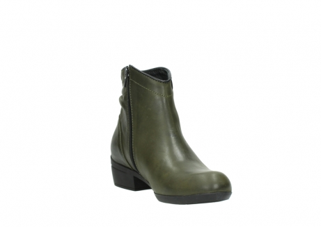 wolky ankle boots 00952 winchester 50732 forestgreen leather_17
