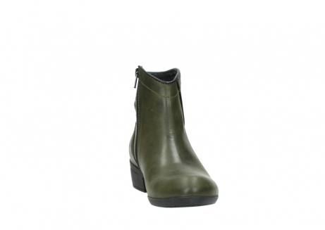 wolky ankle boots 00952 winchester 50732 forestgreen leather_18