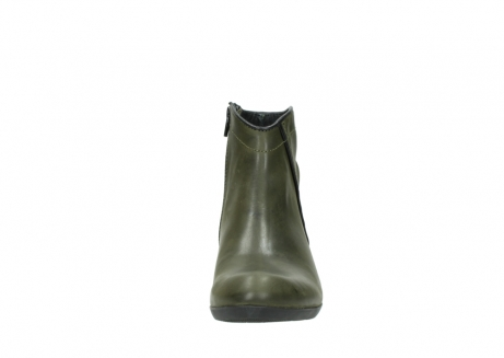 wolky ankle boots 00952 winchester 50732 forestgreen leather_19