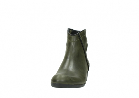 wolky ankle boots 00952 winchester 50732 forestgreen leather_20