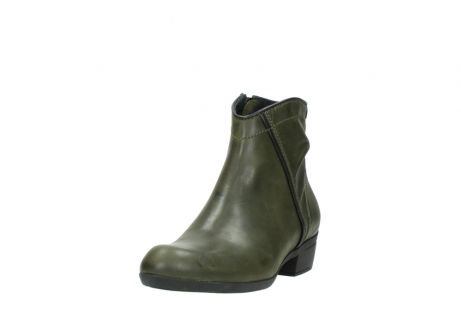 wolky ankle boots 00952 winchester 50732 forestgreen leather_21