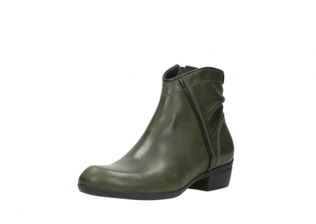 wolky ankle boots 00952 winchester 50732 forestgreen leather_22