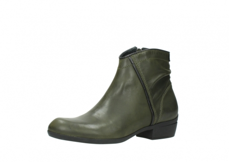 wolky ankle boots 00952 winchester 50732 forestgreen leather_23