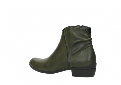 wolky ankle boots 00952 winchester 50732 forestgreen leather_3