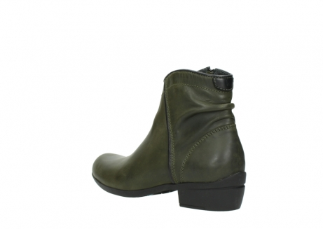 wolky ankle boots 00952 winchester 50732 forestgreen leather_4