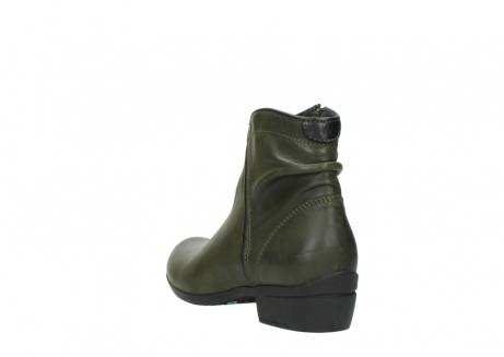wolky ankle boots 00952 winchester 50732 forestgreen leather_5
