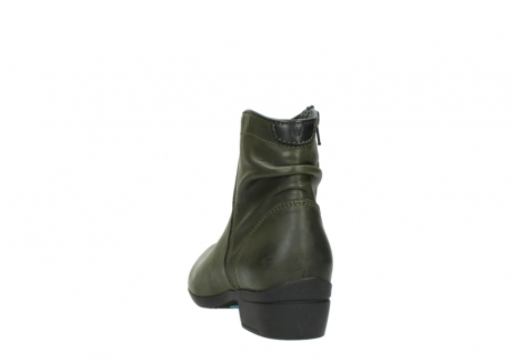 wolky ankle boots 00952 winchester 50732 forestgreen leather_6