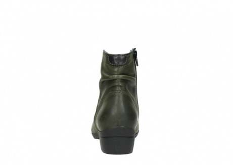 wolky ankle boots 00952 winchester 50732 forestgreen leather_7