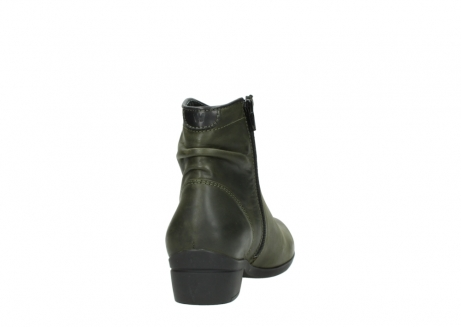 wolky ankle boots 00952 winchester 50732 forestgreen leather_8