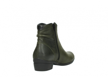 wolky ankle boots 00952 winchester 50732 forestgreen leather_9