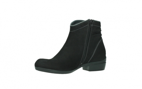 wolky ankle boots 00954 winchester wp 13000 black nubuckleather_11
