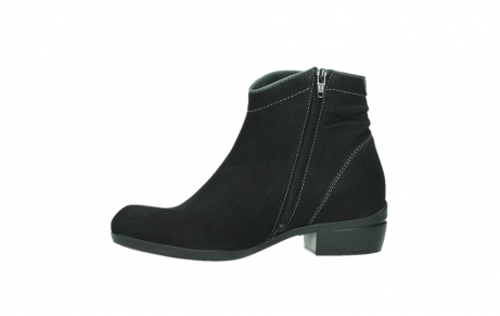 wolky ankle boots 00954 winchester wp 13000 black nubuckleather_12