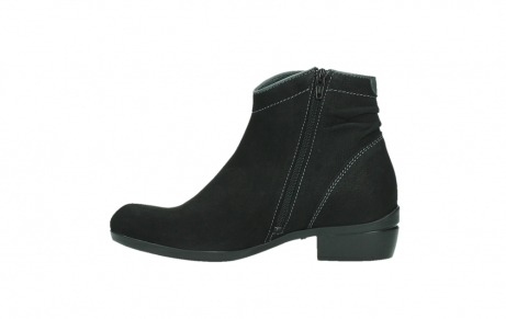 wolky ankle boots 00954 winchester wp 13000 black nubuckleather_13