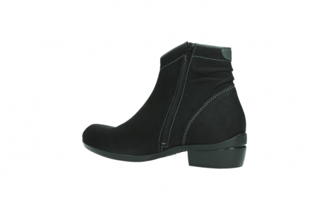 wolky ankle boots 00954 winchester wp 13000 black nubuckleather_15