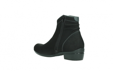 wolky ankle boots 00954 winchester wp 13000 black nubuckleather_16