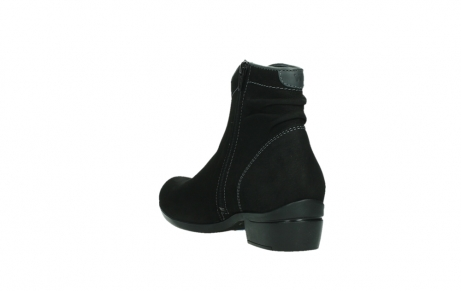 wolky ankle boots 00954 winchester wp 13000 black nubuckleather_17