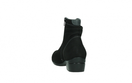 wolky ankle boots 00954 winchester wp 13000 black nubuckleather_18