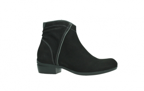 wolky ankle boots 00954 winchester wp 13000 black nubuckleather_2