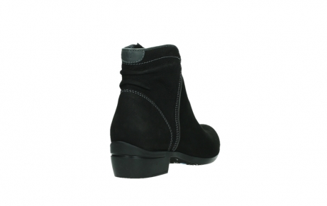 wolky ankle boots 00954 winchester wp 13000 black nubuckleather_21