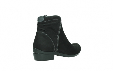 wolky ankle boots 00954 winchester wp 13000 black nubuckleather_22