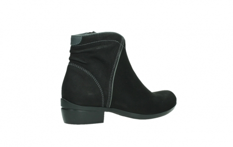 wolky ankle boots 00954 winchester wp 13000 black nubuckleather_23
