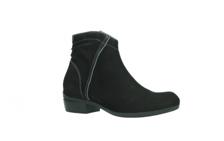 wolky ankle boots 00954 winchester wp 13000 black nubuckleather_3