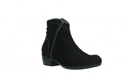 wolky ankle boots 00954 winchester wp 13000 black nubuckleather_4