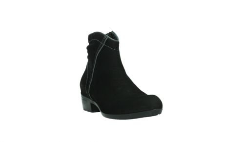 wolky ankle boots 00954 winchester wp 13000 black nubuckleather_5