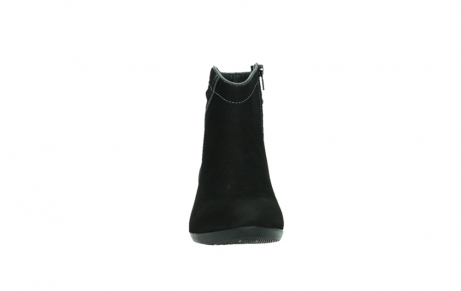wolky ankle boots 00954 winchester wp 13000 black nubuckleather_7