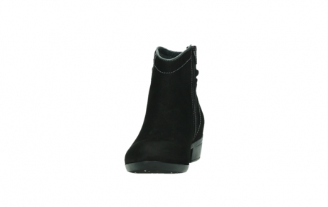 wolky ankle boots 00954 winchester wp 13000 black nubuckleather_8